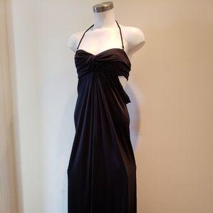 Mara Hoffman - Twist Drape Silk Long Maxi Dress